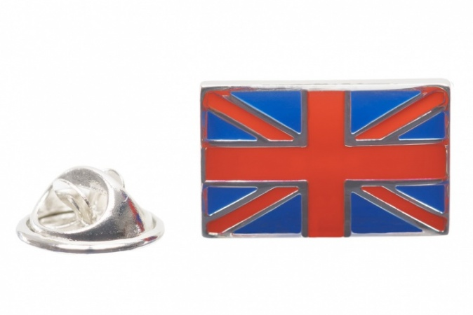 Union Jack Flag Lapel Pin